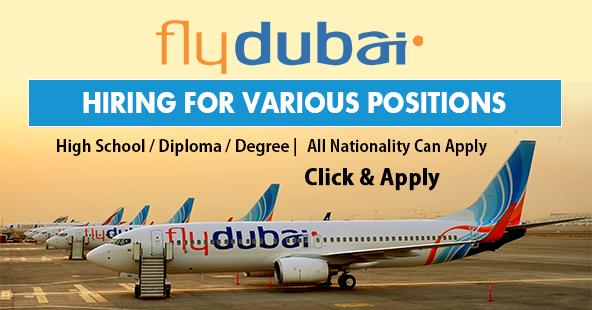 flydubai jobs vacancies