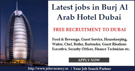 jobs at Burj Al Arab Jumeriah