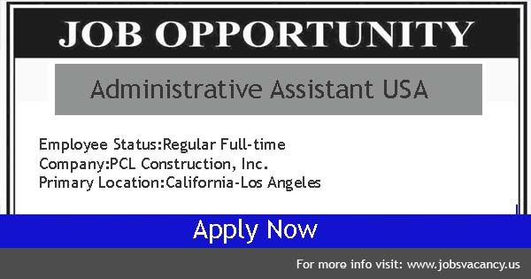 administrative assistant Jobs USA