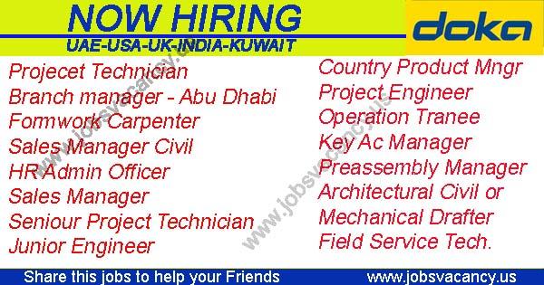 Construction Recruitment at Doka