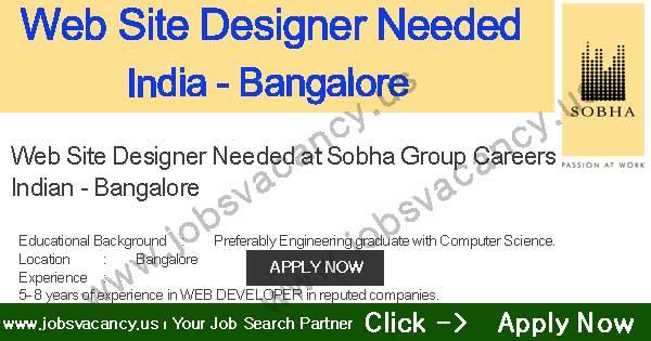Website design jobs