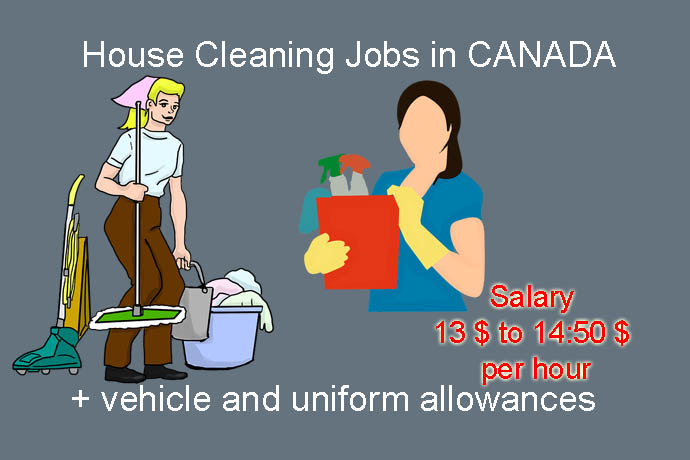 Cleaners Wanted - House Cleaning Jobs - Housekeeping jobs in Canada 2018