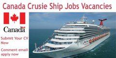 Cruise Ship Jobs in Canada