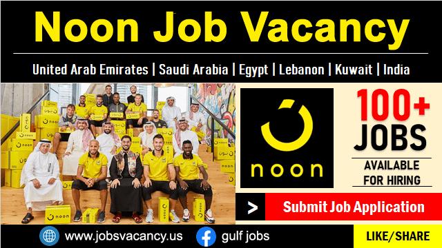 Noon Job Vacancy